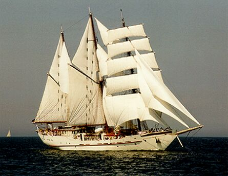 Mary-Anne II, Volker Gries, Hanse Sail Rostock 1997 , 08/1997
