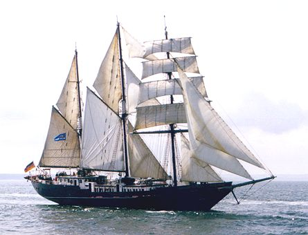 Mary-Anne II, Volker Gries, Hanse Sail Rostock 2000 , 08/2000