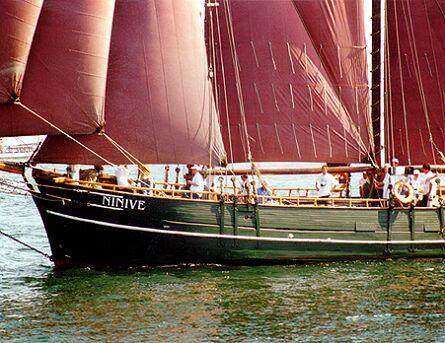 Ninive, Volker Gries, Hanse Sail Rostock 1997 , 08/1997