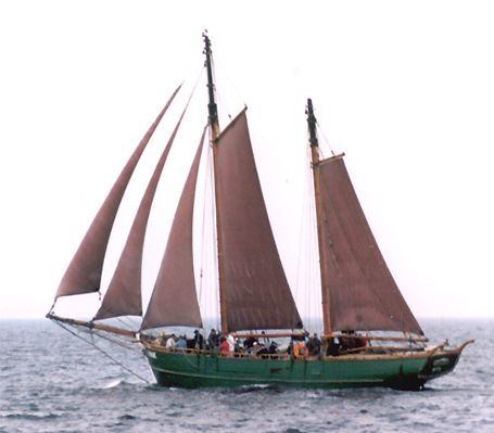 Ninive, Volker Gries, Hanse Sail Rostock 2002 , 08/2002