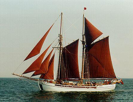 Nordlyset II, Volker Gries, Hanse Sail Rostock 1997 , 08/1997