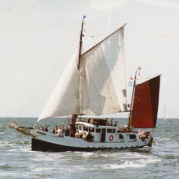 Königin Wilhelmina, Volker Gries, Hanse Sail Rostock 1997 , 08/1997