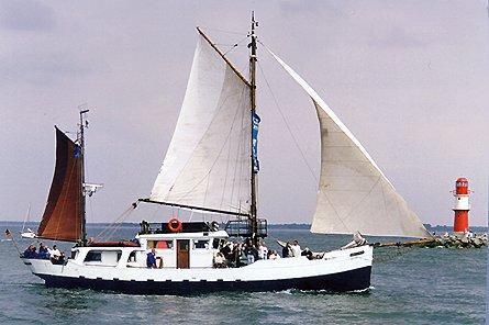 Königin Wilhelmina, Volker Gries, Hanse Sail Rostock 1999 , 08/1999