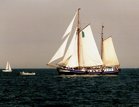 Skylge, Volker Gries, Hanse Sail Rostock 1997 , 08/1997