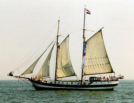 Abel Tasman, Volker Gries, Hanse Sail Rostock 1997 , 08/1997