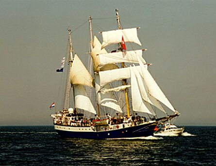 Atlantis, Volker Gries, Hanse Sail Rostock 1997 , 08/1997