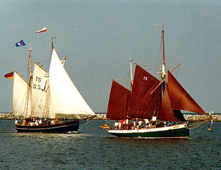 Fulvia af Anholt, Volker Gries, Hanse Sail Rostock 1997 , 08/1997