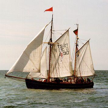 Fulvia af Anholt, Volker Gries, Hanse Sail Rostock 1998 , 08/1998