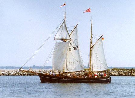 Fulvia af Anholt, Volker Gries, Hanse Sail Rostock 1999 , 08/1999