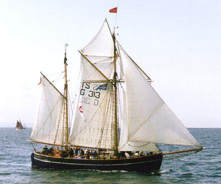 Fulvia af Anholt, Volker Gries, Hanse Sail Rostock 2000 , 08/2000