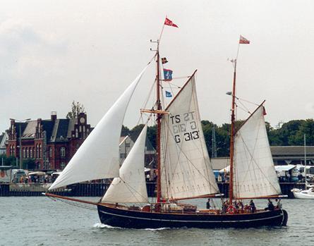 Fulvia af Anholt, Volker Gries, Hanse Sail Rostock 2001 , 08/2001