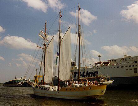 Mare Frisium, Volker Gries, Hanse Sail Rostock 1997 , 08/1997