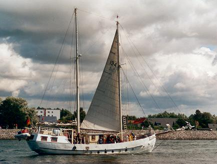 Mariarosa, Volker Gries, Hanse Sail Rostock 2001 , 08/2001