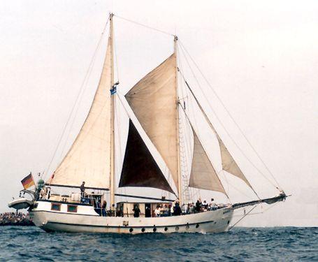 Mariarosa, Werner Jurkowski, Hanse Sail Rostock 2002 , 08/2002