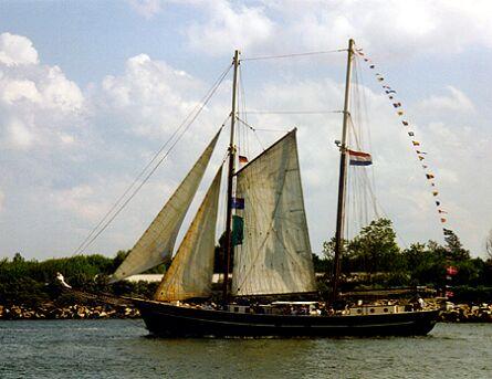 Catherina, Volker Gries, Hanse Sail Rostock 1997 , 08/1997