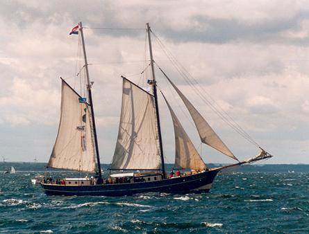 Catherina, Volker Gries, Hanse Sail Rostock 2001 , 08/2001