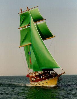 Maranatha, Volker Gries, Hanse Sail Rostock 1997 , 08/1997