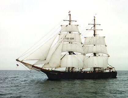 Roald Amundsen, Volker Gries, Hanse Sail 1996 / Cutty Sark 1996 , 08/1996