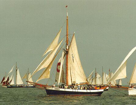 Norden, Volker Gries, Hanse Sail Rostock 1998 , 08/1998