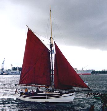 Donar, Volker Gries, Hanse Sail Rostock 2000 , 08/2000