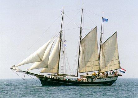 Regina Maris, Volker Gries, Hanse Sail Rostock 1999 , 08/1999