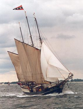 Regina Maris, Volker Gries, Hanse Sail Rostock 2001 , 08/2001