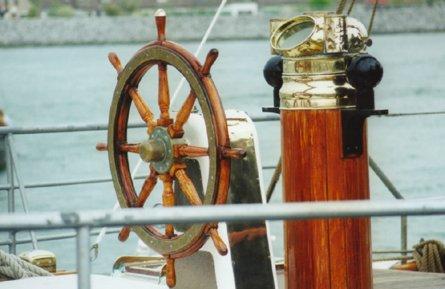 Falken, Volker Gries, Cruise in company with the HIORTEN, Rostock , 05/1999