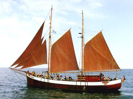 Fridthjof, Volker Gries, Hanse Sail Rostock 2000 , 08/2000