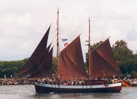Fridthjof, Volker Gries, Hanse Sail Rostock 2001 , 08/2001