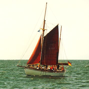 Aglaia, Volker Gries, Hanse Sail Rostock 1998 , 08/1998