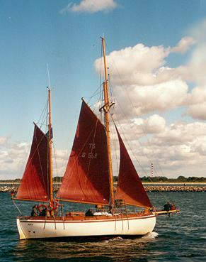 Aglaia, Volker Gries, Hanse Sail Rostock 2001 , 08/2001
