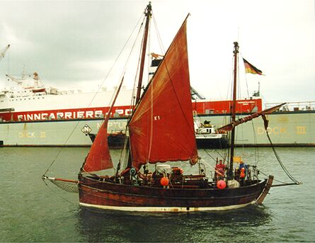 Karoline of Kirkwall, Volker Gries, Hanse Sail Rostock 1998 , 08/1998
