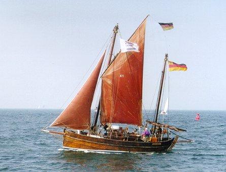 Karoline of Kirkwall, Volker Gries, Hanse Sail Rostock 1999 , 08/1999