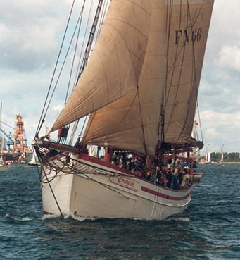 Carmelan, Volker Gries, Hanse Sail Rostock 2001 , 08/2001