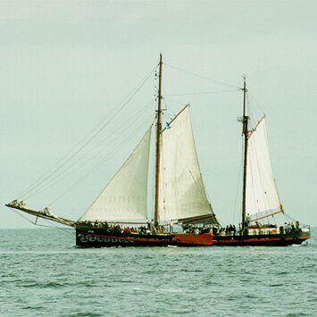 Fortuna, Volker Gries, Hanse Sail Rostock 1998 , 08/1998