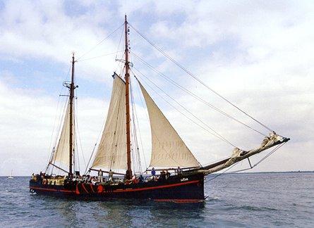 Fortuna, Volker Gries, Hanse Sail Rostock 1999 , 08/1999