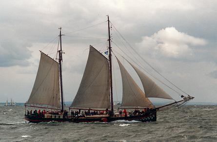 Fortuna, Volker Gries, Hanse Sail Rostock 2001 , 08/2001