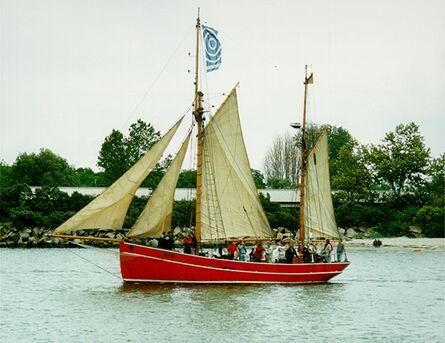 Gefion, Volker Gries, Hanse Sail Rostock 1998 , 08/1998