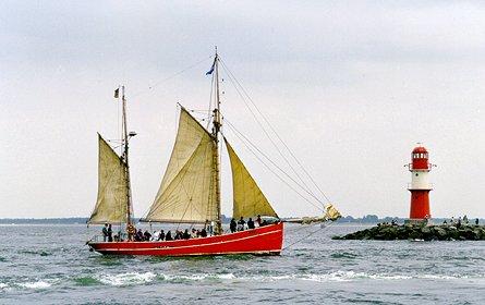 Gefion, Volker Gries, Hanse Sail Rostock 1999 , 08/1999