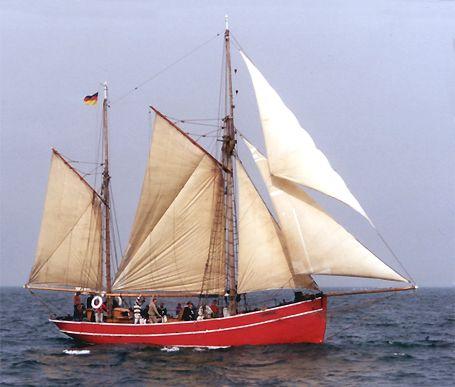 Gefion, Volker Gries, Hanse Sail Rostock 2002 , 08/2002