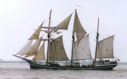 Thor Heyerdahl, Volker Gries, Sail Bremerhaven 2000 , 09/2000