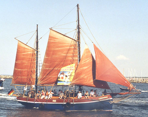 August Ipsen, Werner Jurkowski, Hanse Sail Rostock 2004 , 08/2004