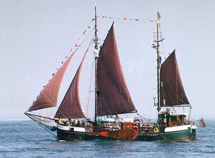 Maria-Dorothea, Volker Gries, Hanse Sail Rostock 1999 , 08/1999