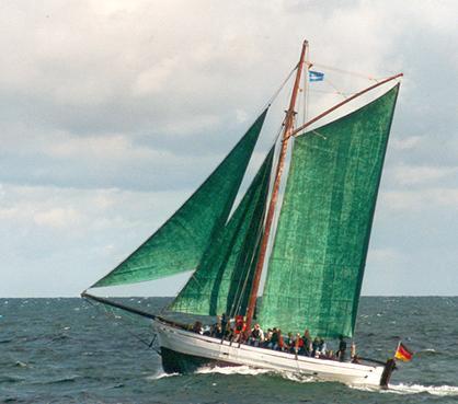 Oll Karl, Volker Gries, Hanse Sail Rostock 2001 , 08/2001