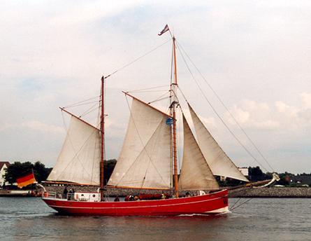 Ryvar, Volker Gries, Hanse Sail Rostock 2001 , 08/2001