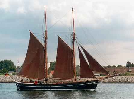 Zuversicht, Volker Gries, Hanse Sail Rostock 2001 , 08/2001