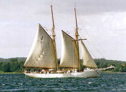 Gladan, Volker Gries, Sail Flensburg 2000 / Cutty Sark 2000 , 08/2000