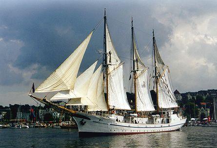 Großherzogin Elisabeth, Volker Gries, Sail Flensburg 2000 / Cutty Sark 2000 , 08/2000