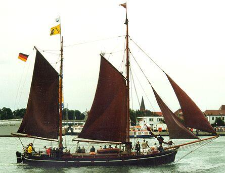 Germania, Volker Gries, Hanse Sail Rostock 1998 , 08/1998