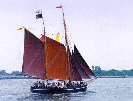 Germania, Volker Gries, Hanse Sail Rostock 1999 , 08/1999